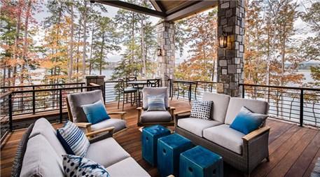 Balkon tasarımlarında farklı fikirler!