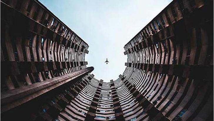 Simetrik binalar ve mimari detaylar
