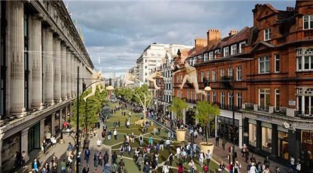Zaha Hadid Architects Londra yayalaştırma projesi