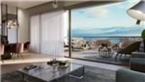 Livin İzmir'in örnek dairesi yatırımcıları bekliyor