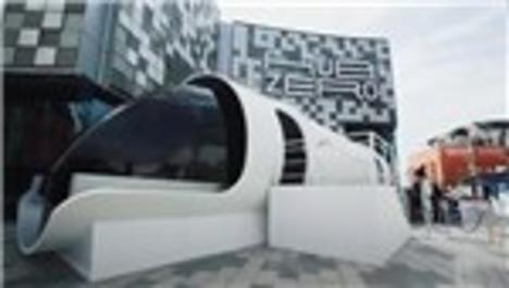 Hyperloop one görücüye çıktı!