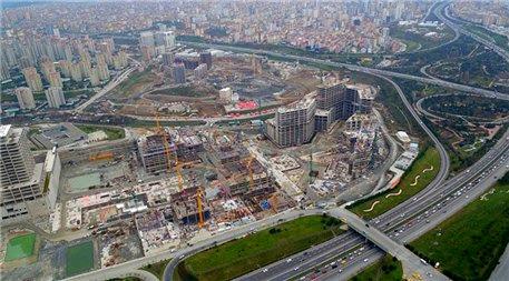 İstanbul Finans Merkezi şantiyesi