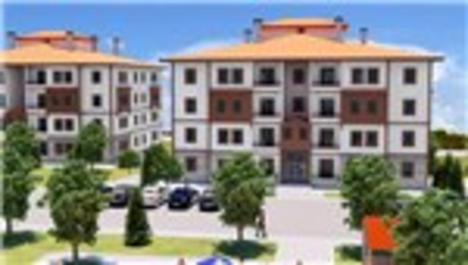 TOKİ'den Mudurnu'ya yöresel mimaride 126 konut!