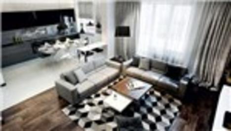 Beyaz Şehir Konutları örnek dairesi