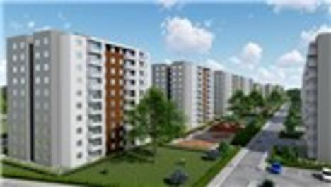 TOKİ'nin Antalya projesinin görselleri