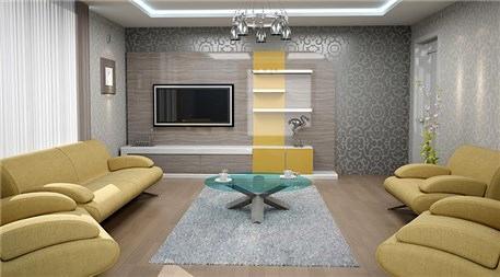 Cihanbeyli Konakları örnek dairesi