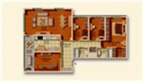 Marmara Evleri 4 kat planları!