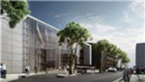 Çanakkale'nin ''yeşil'' belediye binası böyle olacak