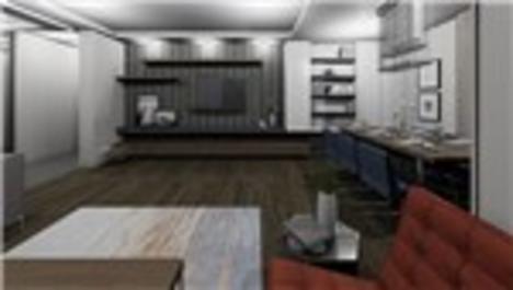 Zeytinpark Rezidans örnek dairesi