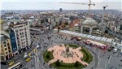 Taksim Camisinin inşaat görselleri