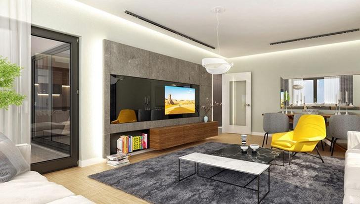 İzpek Trend Bornova örnek dairesi
