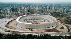 Yeni Adana Stadı'nın inşaatından kareler