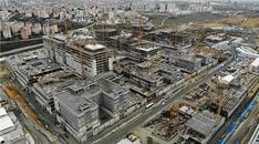 Başakşehir Şehir Hastanesi şantiyesinden son görüntüler!