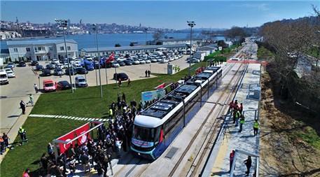Eminönü-Alibeyköy tramvay hattının test sürüşü başladı