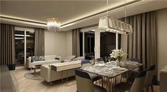 Rengi Antalya örnek daire görselleri