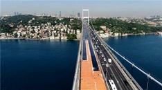 FSM Köprüsü'ndeki bakım onarım çalışmaları havadan görüntülendi