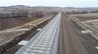 Sivas-Ankara Yüksek Hızlı Tren projesinde sona yaklaşıldı