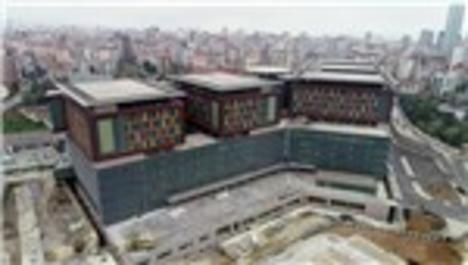 Göztepe Şehir Hastanesi havadan görüntülendi