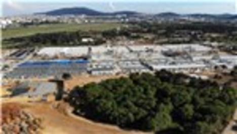 Sancaktepe'de pandemi hastanesi havadan görüntülendi
