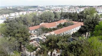 Tarihi Hadımköy Askeri Hastanesi'nde restorasyon çalışmaları devam ediyor