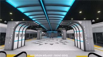 İstanbul Havalimanı Metrosu'nun istasyonları böyle olacak