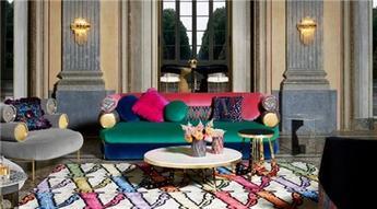 Versace Home çizgisi ile tasarlanan iç mekanlar