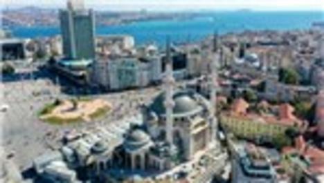 Taksim Camisi'nin son hali görüntülendi!