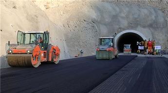 Artvin Yusufeli Tüneli'nde çalışmalar devam ediyor