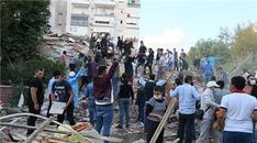İzmir depreminden son görüntüler