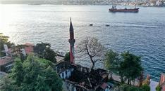 Yanan Vaniköy Camisi yenilenecek