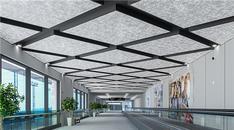 Farklı mekanlara tavan panel uygulamalarından örnekler