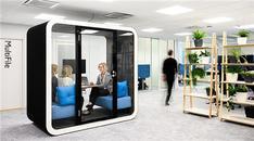 Ofislerde yaygınlaşan kabin kullanımına en güzel örnekler