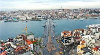 İstanbul kısıtlama sürecinde boş kaldı