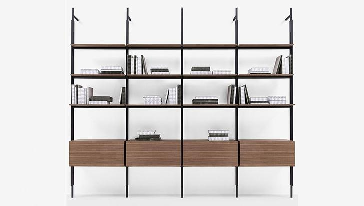 Modern kitaplık tasarımları!