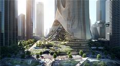 Zaha Hadid Architects, Tower C binasını tasarladı