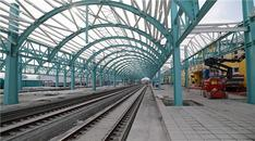 Sivas'ta YHT istasyon merkezi inşaatı devam ediyor