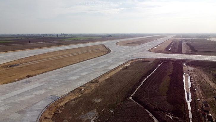 Çukurova Havalimanı'nın 2022 yılının Mart ayında bitirilmesi planlanıyor