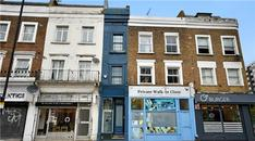 Londra'nın en dar evi 8 milyon liraya satılıyor!
