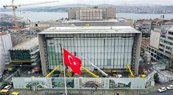 AKM inşaatının yüzde 86'sı tamamlandı