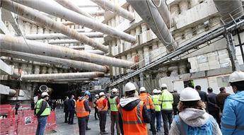 Bakırköy-Bahçelievler-Kirazlı metro hattı inşaatından son görüntüler