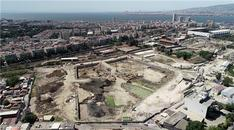 İzmir Allsancak'da inşaat çalışmaları devam ediyor