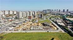 Semt Bahçekent ikinci kısım inşaatı havadan görüntülendi!