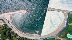 Marmara Denizi'nde azalan musilajın öncesi ve sonrası görüntülendi!