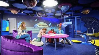 İstanbul Havalimanı'nda çocuk oyun alanları ücretsiz hizmet veriyor