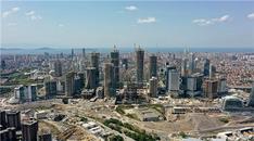 İstanbul Finans Merkezi şantiyesinde son durum havadan görüntülendi!