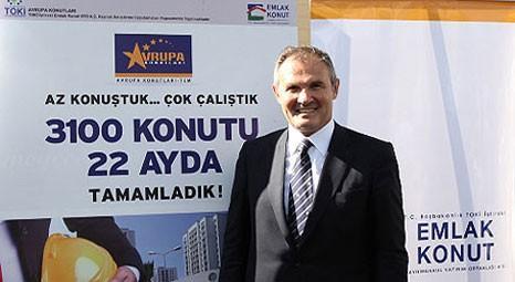 Avrupa Konutları'nun patronu Süleyman Çetinsaya Yeşilköy'e âşık