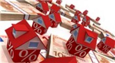 Konut kredilerinde yükseliş sürüyor