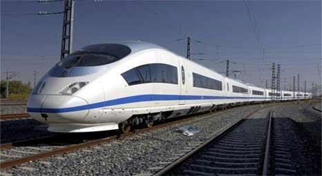 Yüksek Hızlı Tren (YHT) seti ile ilgili görsel sonucu