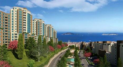 Adalar manzaralı Nish Adalar'da 144 bin TL'ye daire