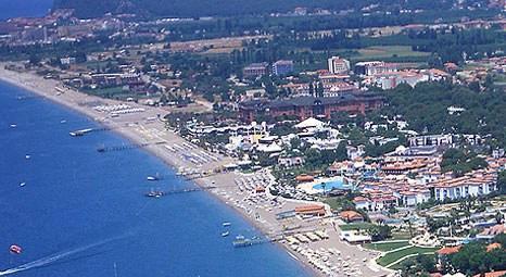 SGK'dan satılık tatil köyü plajını